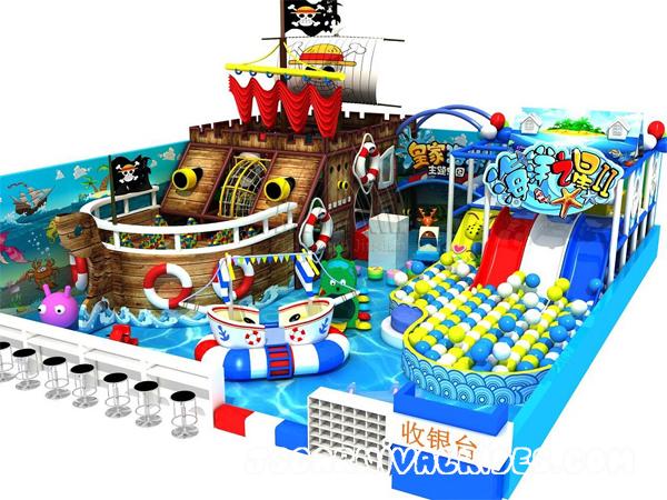 """Детская площадка """"пиратский корабль"""""""