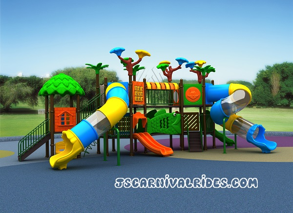 Уличный детский комплекс