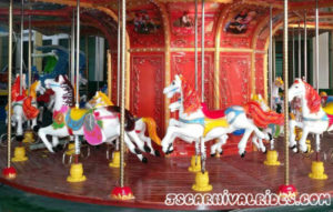 Antique carousel ride for kids (1)