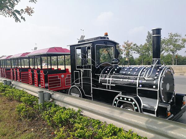 Red Vintage Train Rides