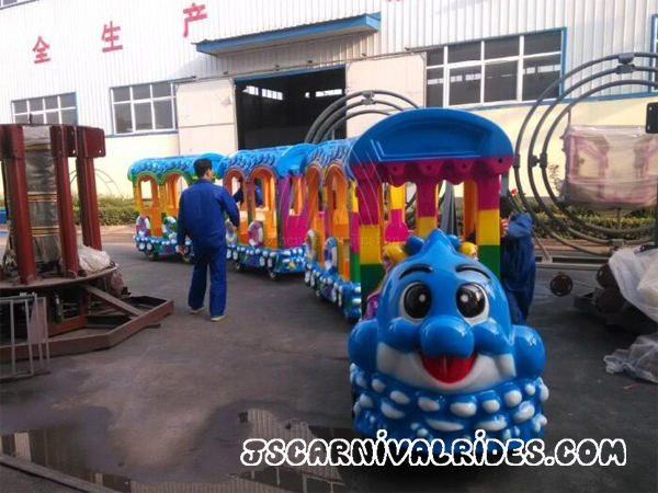 Introduction of Electric Trackless Train
