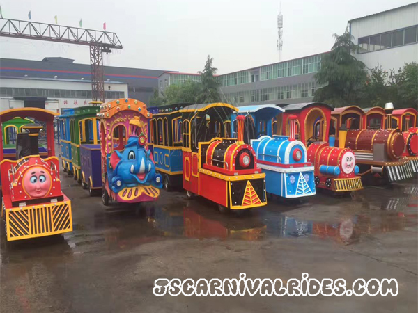 Leader in Amusement Rides--Trackless Train
