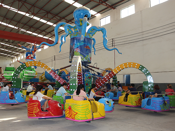 Amusement Octopus Rides (