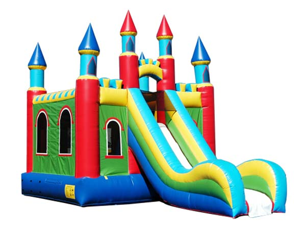 Castle Inflatable Combo