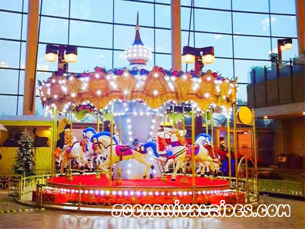 What Issues Should I Consider Before Carousel Rides Are Purchased?