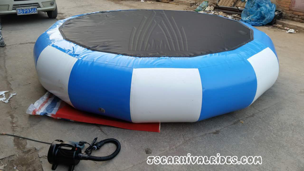 Double-trampoline-bungee shipping to Belgium
