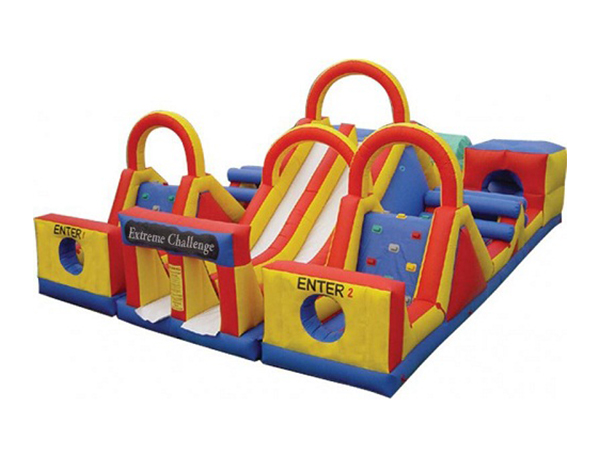 Extreme Challenge Inflatable Obstacle