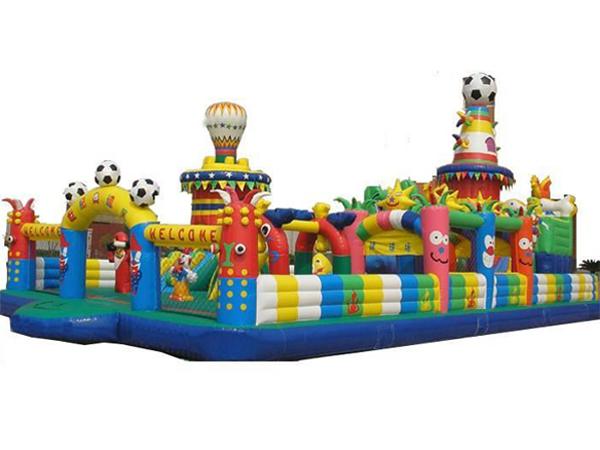 Football Theme Inflatable Park