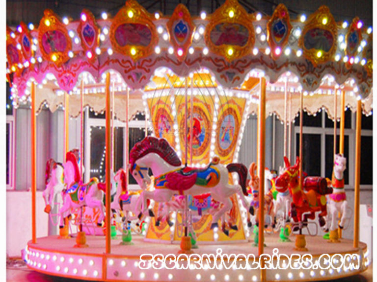 How Much Money to Buy a Carousel Rides?
