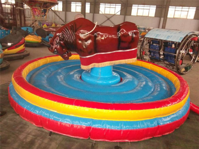 Exciting and Interesting Amusement Equipment-the Mechanical Rodeo Bull Ride