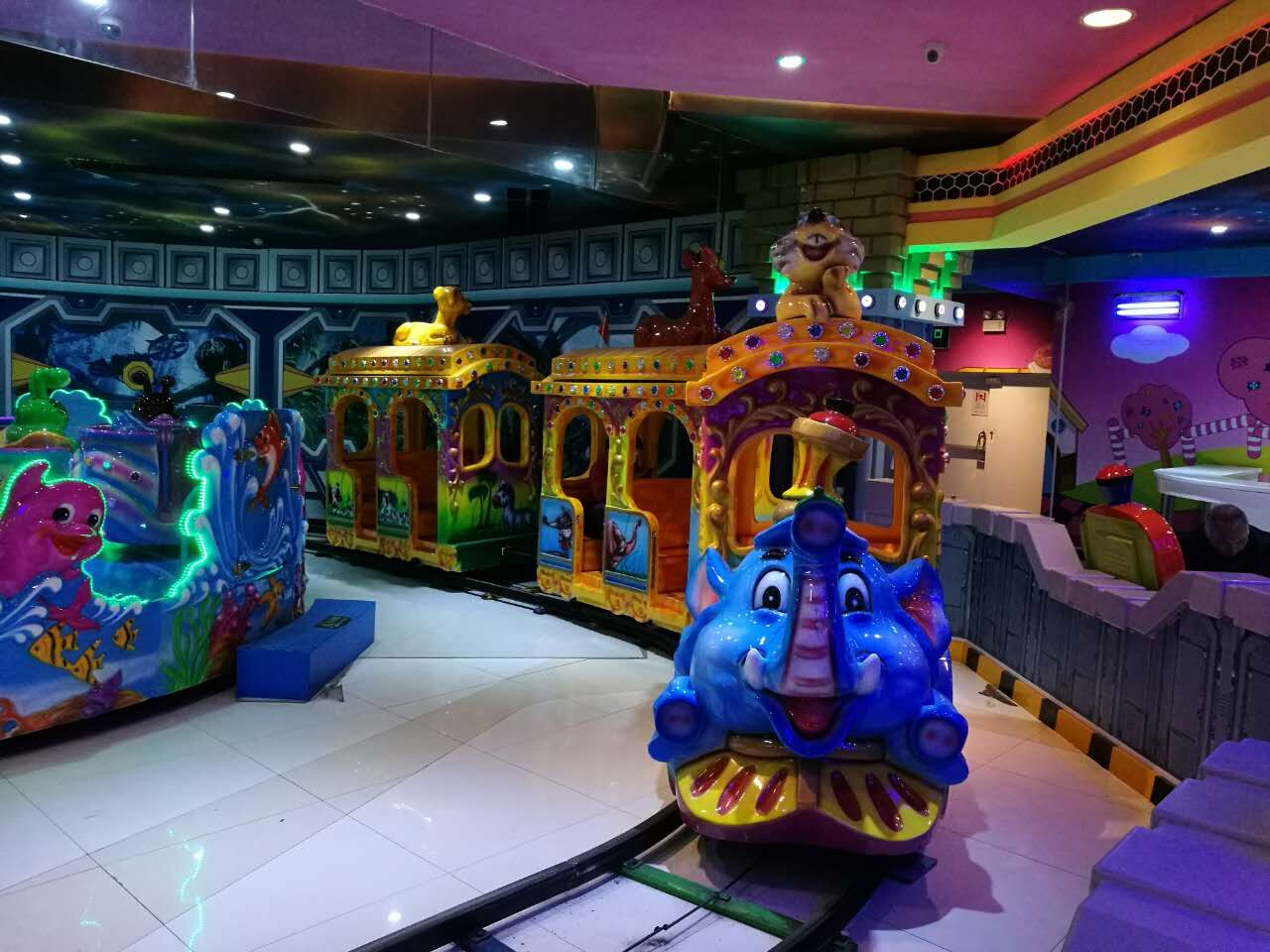 elephant train ride