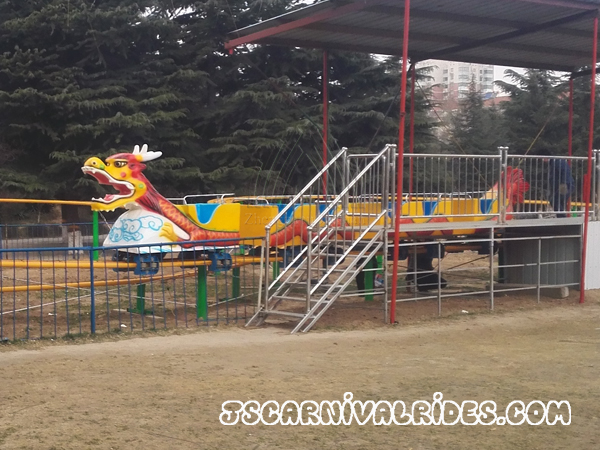 Dragon wagon carnival ride