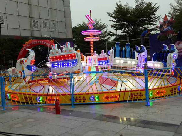 What should you pay attention to when investing amusement ride?