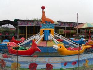 The Self-control Dolphin Ride