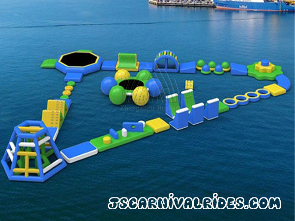 Triangle Inflatable Water Park