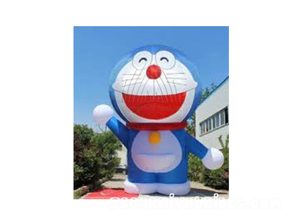 Viking Cat Inflatable Cartoon