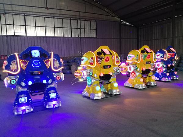 Walking Robot Rides