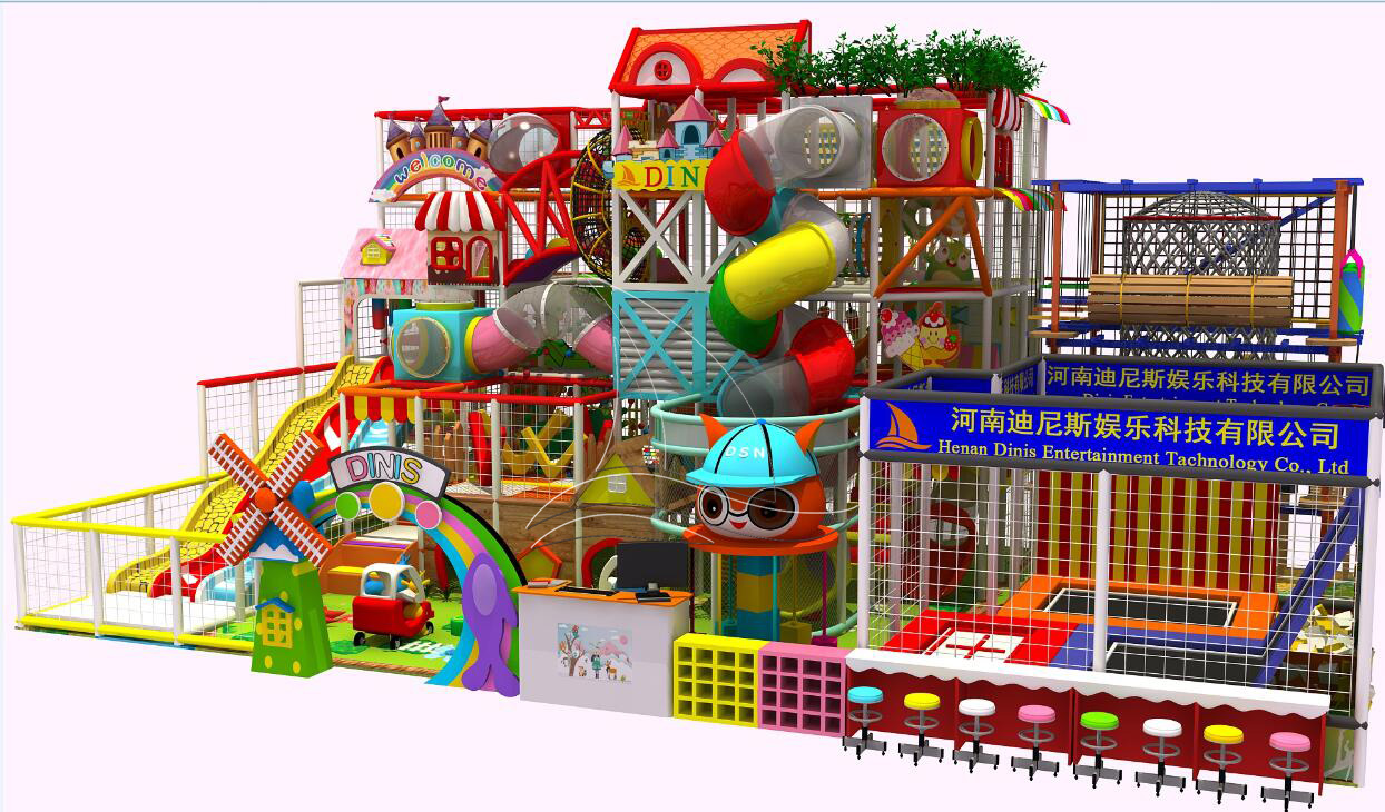 Two-Story Soft Indoor playground