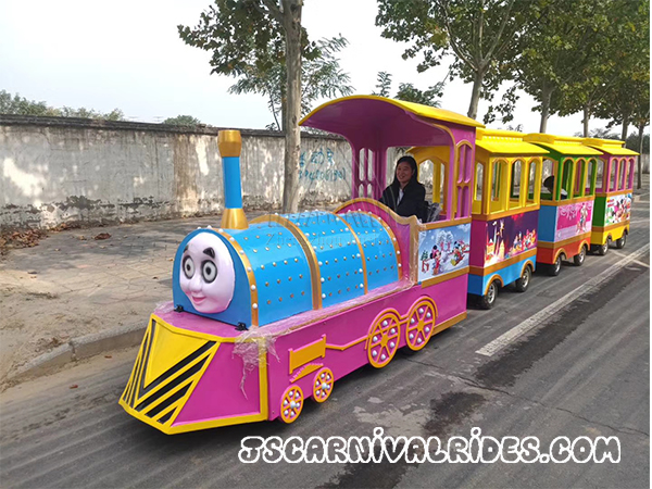The Advantages of Investing in New Trackless Train