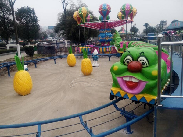 What problem should be taken in account when you want to invest an amusement park?