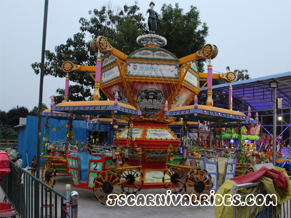 Revolving carriage rides