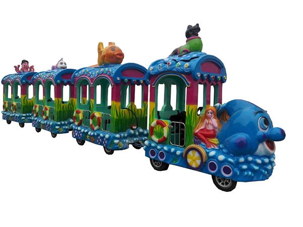 Trackless Ocean Train Rides
