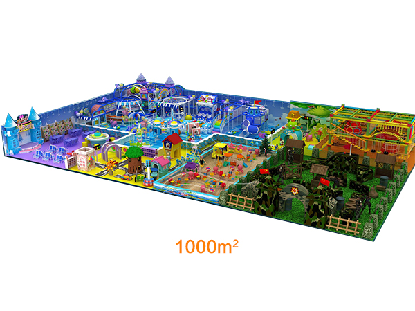 1000㎡ Multi-Styles Indoor Playground