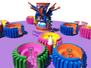 Spider Man Spinning Ride