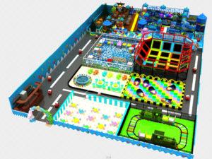 1400㎡ Indoor Playground