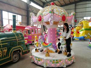 6 Seats kids merry go round (5)