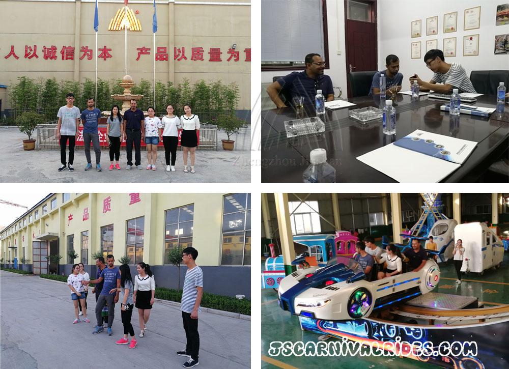 Bahrain customers visit