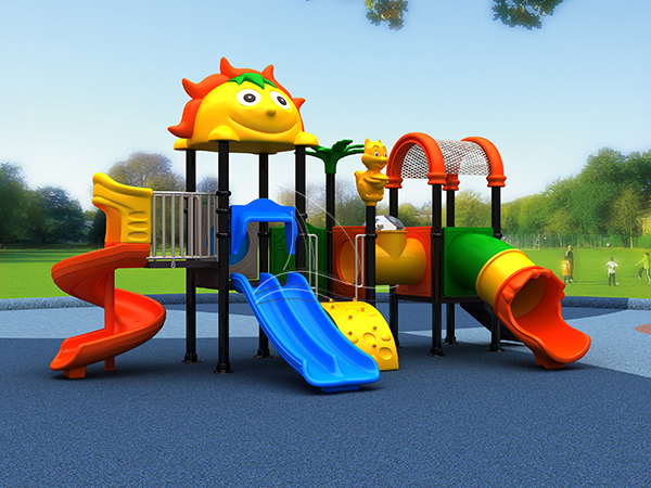 Beautiful outdoor slide playground equipment
