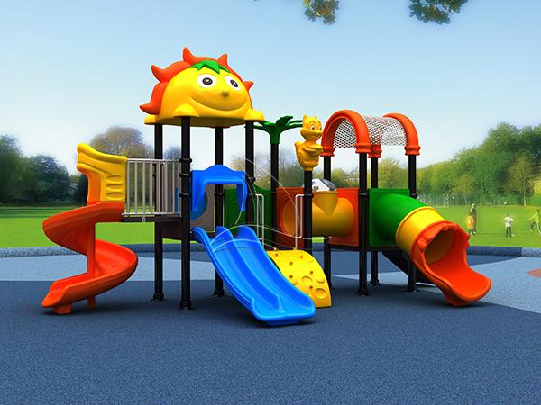 Beautiful outdoor slide playground equipment