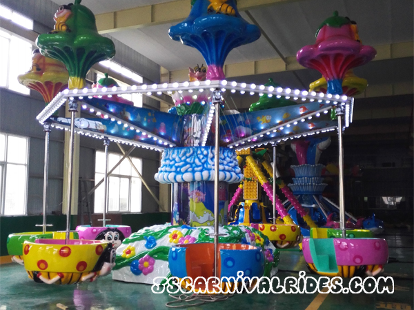 What Are the Benefits of Operating Large Amusement Equipment?