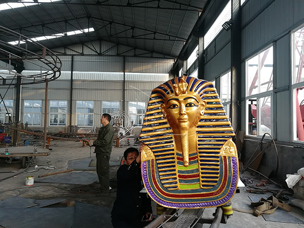 Customized Pharaoh Roller Coaster