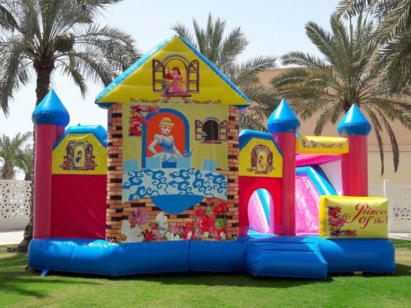 Feedback from our Qatar Inflatable Castle buyer
