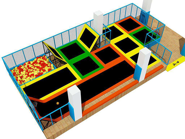 Shopping Mall Amusement Trampoline Park
