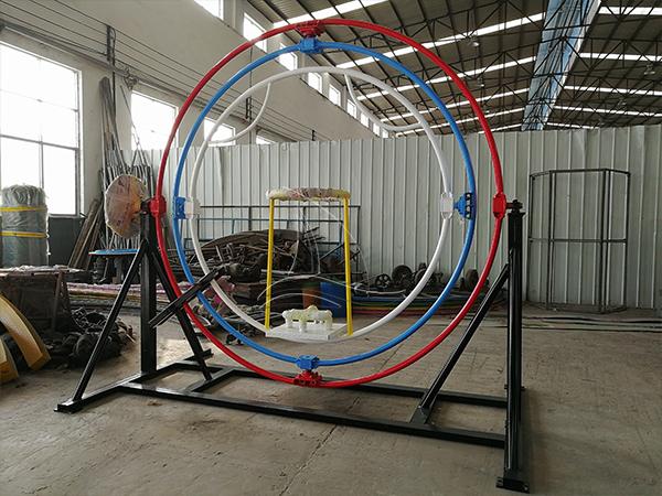 Single Person Human Gyroscope
