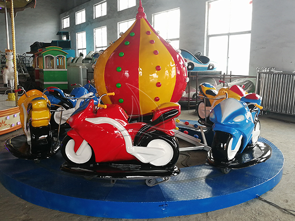 The Motorcycle Race Amusement Ride