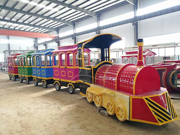 Vintage Amusement Park Trains for Sale