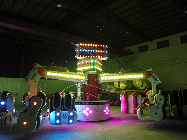 What safety items should be paid attention to before the operation of amusement equipment ?