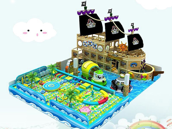 Pirate Ship Indoor Playground