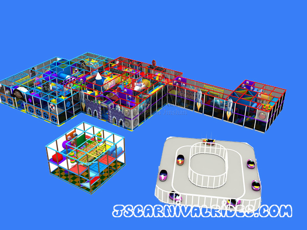 1224㎡ Indoor Playground