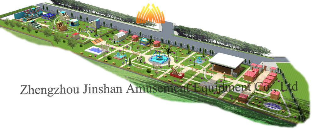 Amusement Park design by Jinshan carnival rides
