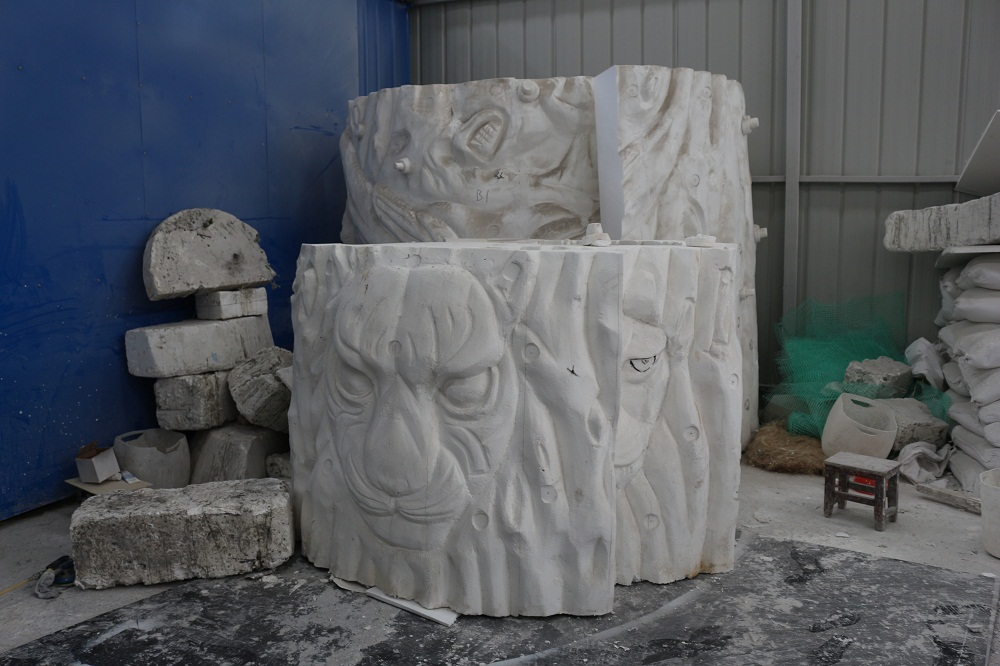 Mould Workshop of Jinshan carnival rides