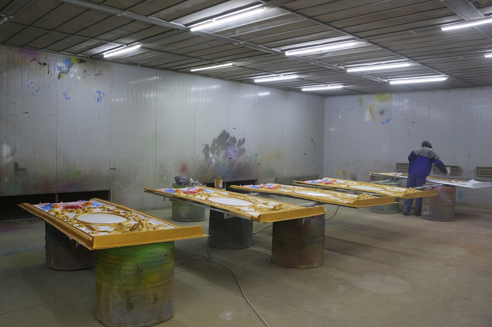 Painting room of Jinshan carnival rides