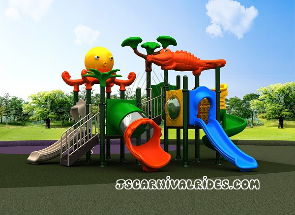 Amusement Park Kids Outdoor Playground