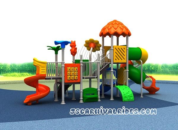 outdoor slide playground