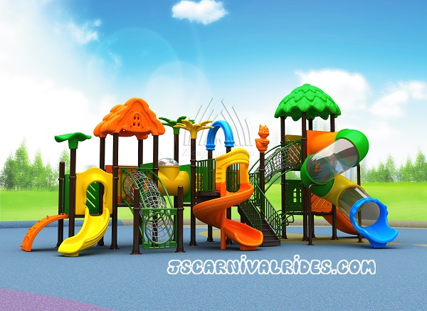 Cheap commercial outdoor playground for sale