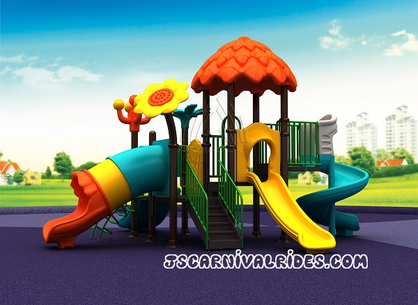 outdoor slide playground equipment